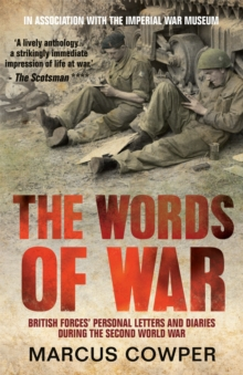 The Words Of War, Paperback Book