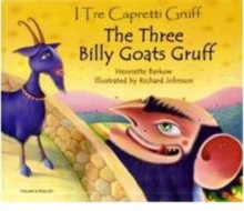 The Three Billy Goats Gruff in Italian & English, Paperback Book