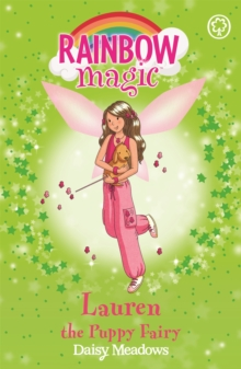Rainbow Magic: Lauren The Puppy Fairy : The Pet Keeper Fairies Book 4, Paperback Book