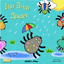 Itsy Bitsy Spider, Board book Book