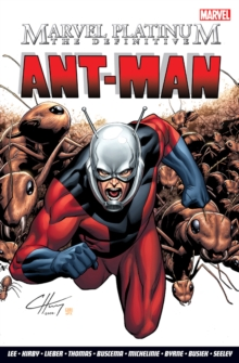 The Marvel Platinum: Definitive Ant-man, Paperback Book