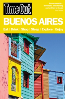Time Out Buenos Aires City Guide, Paperback Book