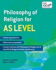 Philosophy of Religion for AS Level, Paperback Book