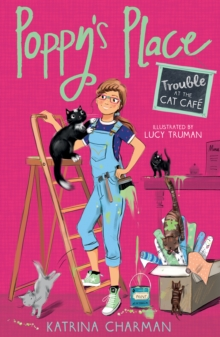 Trouble at the Cat Cafe, Paperback Book