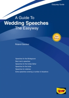Wedding Speeches : Easyway Guide, Paperback Book