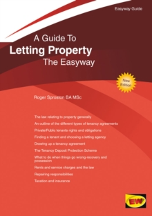 Letting Property : The Easyway, Paperback Book