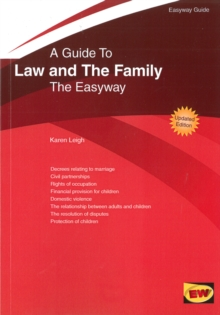 Guide to Family Law : The Easyway - 2016, Paperback Book