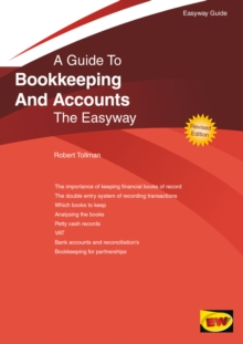 Bookkeeping and Accounts : The Easyway, Paperback Book
