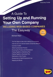 Setting Up and Running Your Own Company (Including Setting Up an Internet Business) : The Easyway, Paperback Book