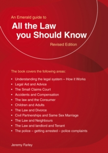 All the Law You Should Know, Paperback Book