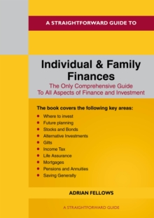 A Straightforward Guide To Individual And Family Finances, Paperback / softback Book