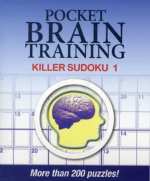 Pocket Brain Training: Killer Sudoku 1, Paperback Book