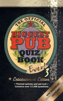 The Biggest Pub Quiz Book Ever! 3, Paperback Book