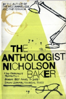 The Anthologist, Paperback Book