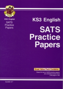 KS3 English Practice Tests, Paperback Book