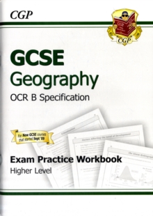 GCSE Geography OCR B Exam Practice Workbook Higher (A*-G Course), Paperback Book