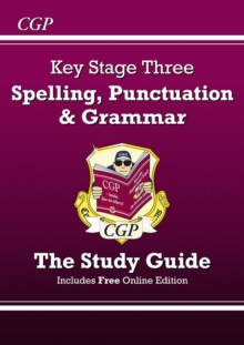 Spelling, Punctuation and Grammar for KS3 - Study Guide, Paperback / softback Book