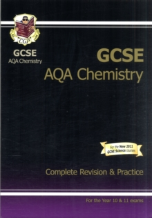 GCSE Chemistry AQA Complete Revision & Practice (A*-G Course), Paperback Book