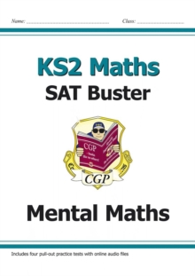 KS2 Maths - Mental Maths Buster (with Audio Tests), Paperback Book