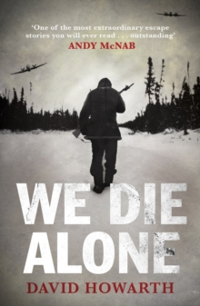 We Die Alone, Paperback Book