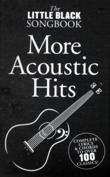 The Little Black Songbook : Acoustic Hits, Paperback Book