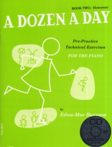 A Dozen A Day : Book Two - Elementary Edition (Book And CD), Paperback Book