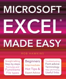 Microsoft Excel Made Easy, Paperback Book