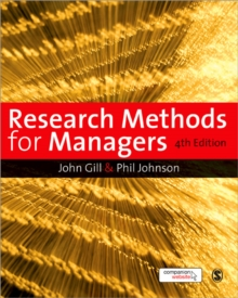 Research Methods for Managers, Paperback Book
