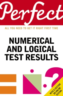 Perfect Numerical and Logical Test Results, Paperback / softback Book