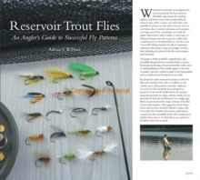 Reservoir Trout Flies : An Angler's Guide to Successful Fly Patterns, Hardback Book
