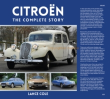 Citroen : The Complete Story, Hardback Book