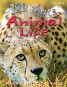 100 Facts Animal Life, Paperback Book