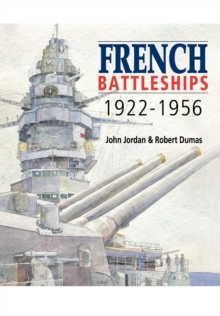 French Battleships 1922-1956, Hardback Book