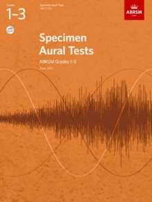 Specimen Aural Tests, Grades 1-3 with 2 CDs : new edition from 2011, Sheet music Book