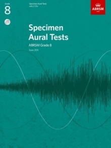 Specimen Aural Tests, Grade 8 with 2 CDs : new edition from 2011, Sheet music Book