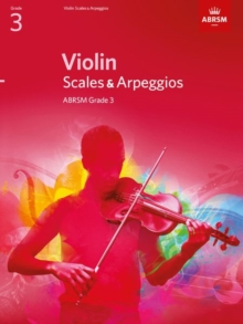Violin Scales & Arpeggios, ABRSM Grade 3 : From 2012, Sheet music Book