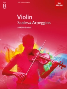 Violin Scales & Arpeggios, ABRSM Grade 8 : From 2012, Sheet music Book