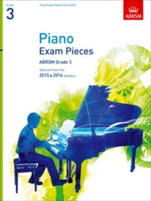 Piano Exam Pieces 2015 & 2016, Grade 3 : Selected from the 2015 & 2016 syllabus, Sheet music Book