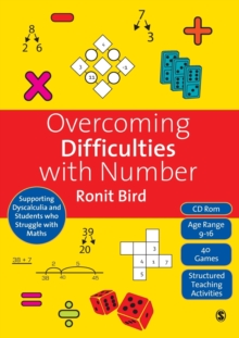 Overcoming Difficulties with Number : Supporting Dyscalculia and Students Who Struggle with Maths, Paperback Book