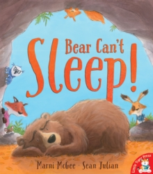 Bear Can't Sleep!, Paperback Book