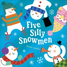 Five Silly Snowmen, Board book Book