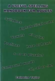 A Useful Spelling Handbook For Adults, Paperback Book