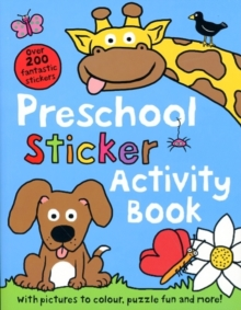 Preschool Sticker Activity Book, Paperback Book