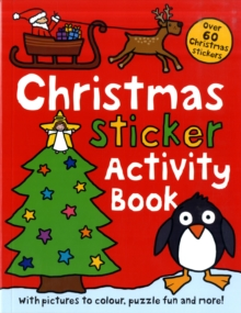 Christmas Sticker Activity Book, Paperback Book