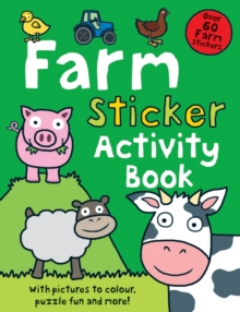 Farm Sticker Activity Book, Paperback Book