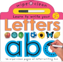 Learn To Write Your Letters, Board book Book