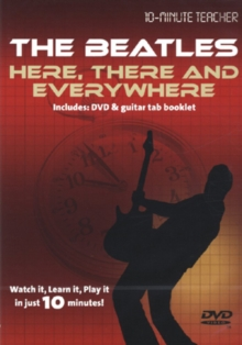 10-minute Teacher: The Beatles - Here, There and Everywhere, DVD  DVD