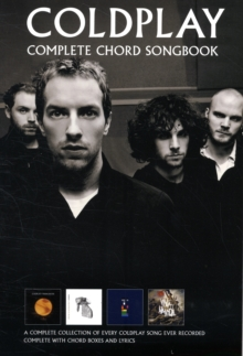 Coldplay : Complete Chord Songbook, Paperback Book