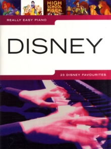 Really Easy Piano : Disney, Paperback Book