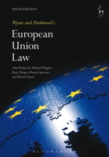 Wyatt and Dashwood's European Union Law, Paperback Book